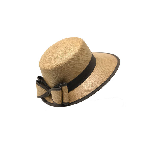 Visera Cafe Genuine Panama Hat