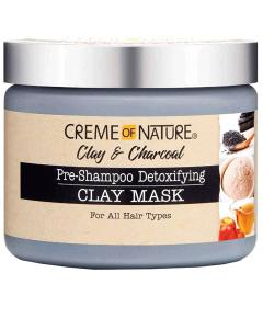 Clay And Charcoal Pre Shampoo Detoxifying Clay Mask
