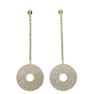 Ogee Pavé Earrings