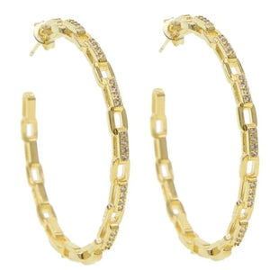 Heather Hoop Earrings
