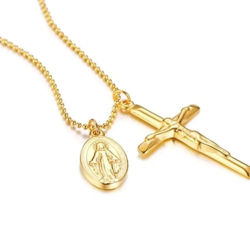 Faith Cross Hallowed Necklace
