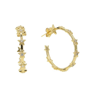 Luxe Gold Mini Hoop Earrings