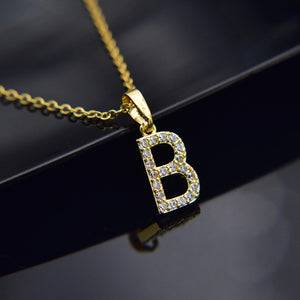 Afam A-Z Initials Necklace