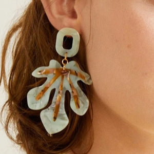 Ada Leaf Earrings