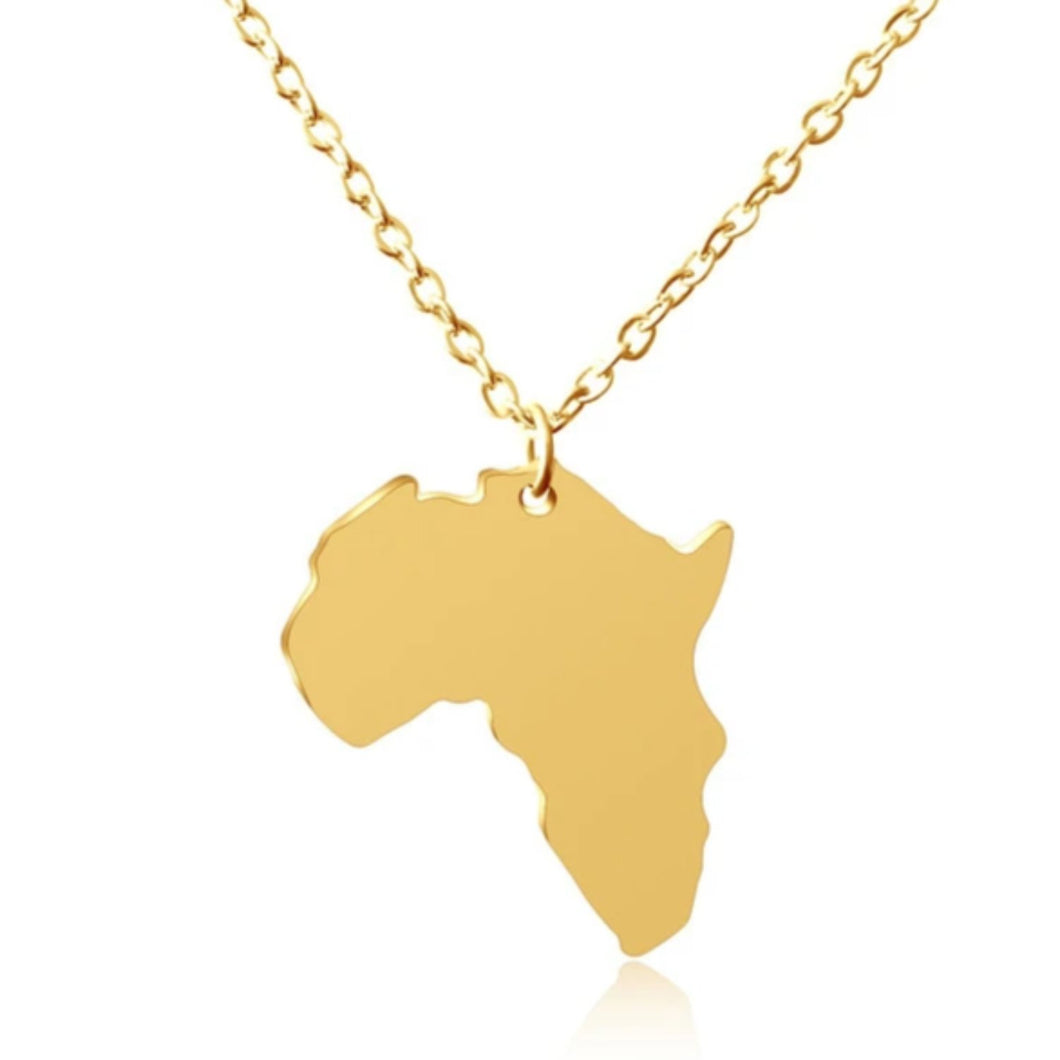 Mother Africa Pendant Necklace