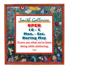 Smith Galleries is OPEN!
