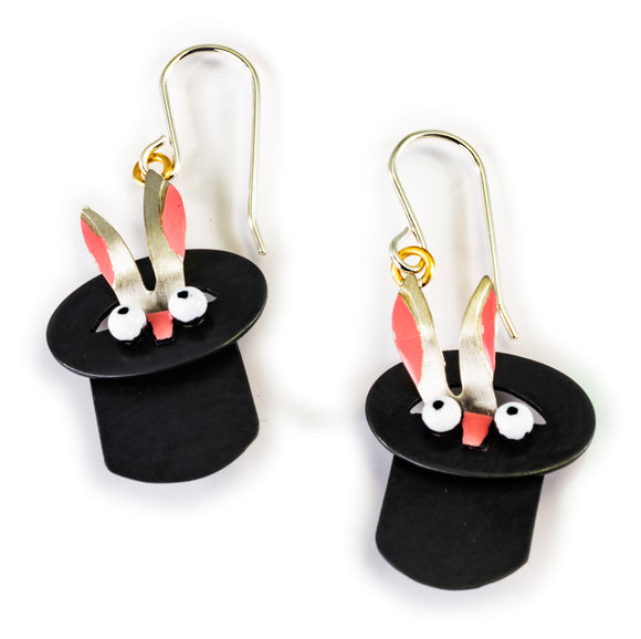 Rabbit Out Of Hat Earrings