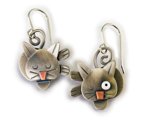 Cat Nap Earrings
