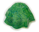 Scalloped Bowl in Ocean Emerald