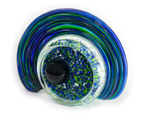 Celestial Geode Green Blue Mix