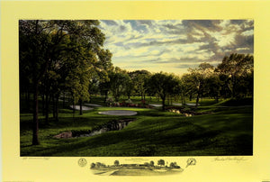 """The 12th Hole"" Southern Hills Country Club Tulsa, Oklahoma"