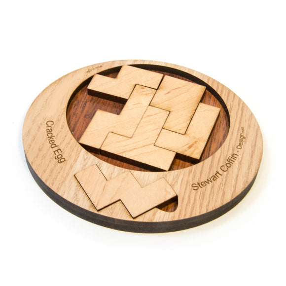Cracked Egg Wood Puzzle