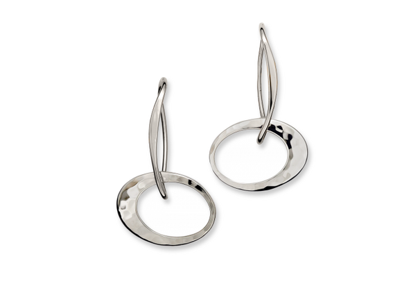Petite Elliptical Earring ($145 to $565)
