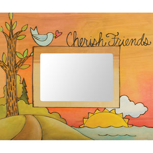 """Friends of a Feather"" 5x7 Picture Frame by Sticks"