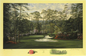 """The 10th Hole, Camellia,"" Augusta National Golf Club, Augusta, Georgia"