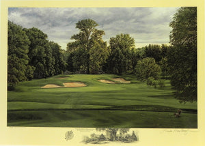 """The 10th Hole, West Course,"" Winged Foot Golf Club, Mamaroneck, New York"