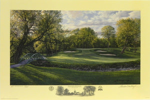 """The 12th Hole, North Course"", Olympia Fields Country Club, Olympia Fields, Illinois"