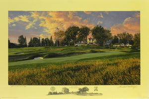 """The 14th Hole"", Oakmont Country Club, Oakmont, Pennsylvania"