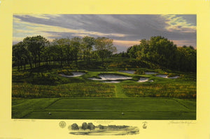 """The 17th Hole, Black Course"" Bethpage State Park, Farmingdale, New York"
