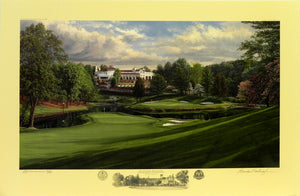 """The 17th Hole, Blue Course"", Congressional Country Club, Bethesda, Maryland"