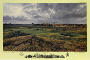 """The 17th Hole,"" Royal St. George's Golf Club, Sandwich, England"