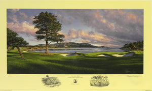 """The 18th Hole,"" Pebble Beach Golf Links, Pebble Beach, California"