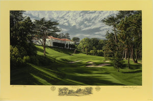 """The 18th Hole, Lake Course"", The Olympic Club, San Francisco, California"
