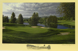 """The 18th Hole"", Laurel Valley Golf Club, Ligonier, Pennsylvania"