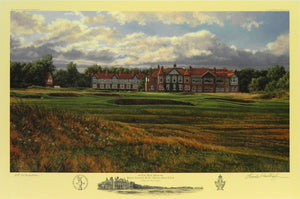 """The 18th Hole,"" Royal Lytham & St. Annes Golf Club, Lytham St. Andrews, England"