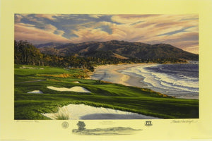 """The 9th Hole"", Pebble Beach Golf Links, Pebble Beach, California"