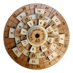 Safecracker 40 Wooden Puzzle