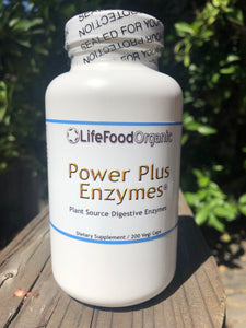 LifeFood Power Plus Enzymes, 200 capsules