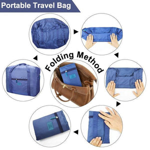 Packable Carry-On Duffel Bag -(BUY 1 GET 2 BAGS, 1 FOR FREE)