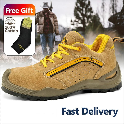 Safetoe Puncture Free Work Shoes
