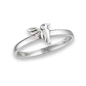 Sterling Silver Humming Bird Ring