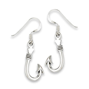 Sterling Silver Hook Earrings