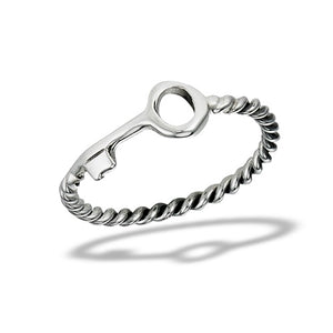Sterling Silver Small Key Ring