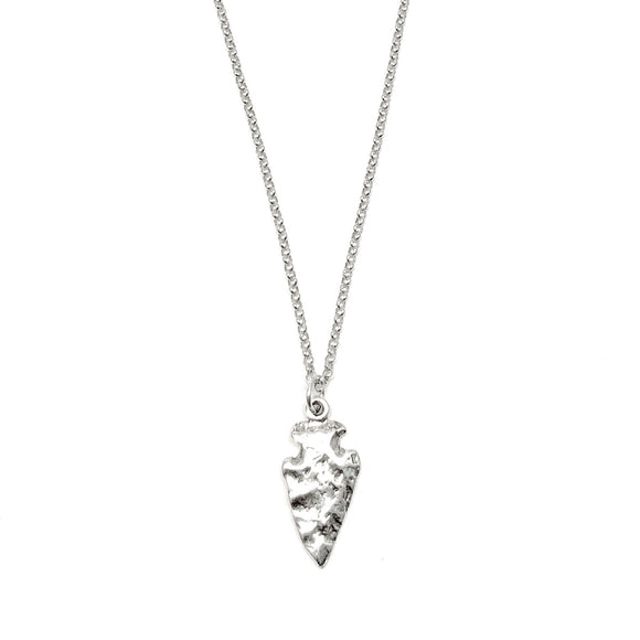 Sterling Silver Arrow Head Necklace