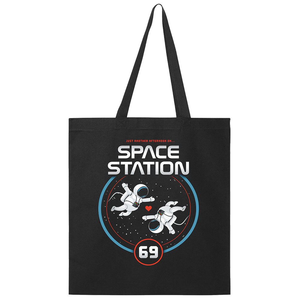 Space Station 69 Tote Bag