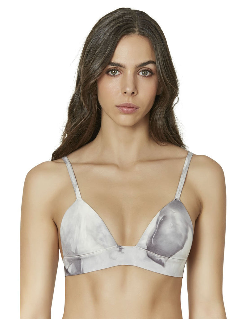 bikini top push up teñido a mano color gris moteado water 1 3