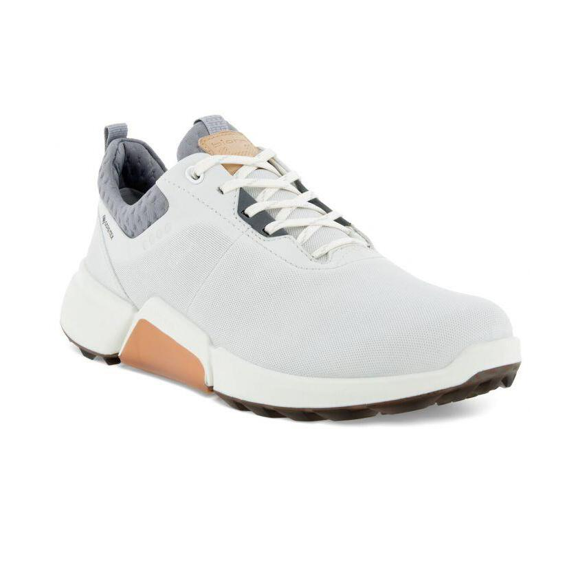 Golf Biom H4 - Womens - White Silver Grey Golf ECCO