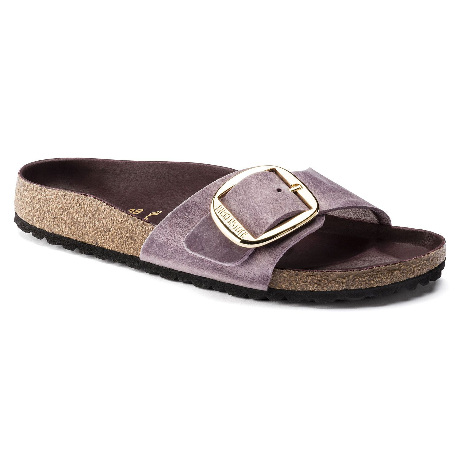 Madrid Big Buckle Oiled Leather (Regular width) Lavender Blush Sandals Birkenstock