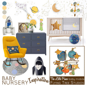 Le Petit Prince (The Little Prince) Baby Nursery Inspiration