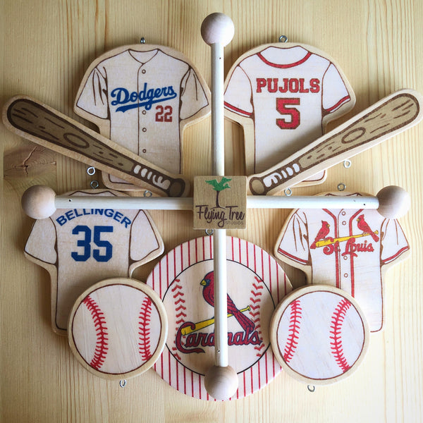Baseball Baby Mobile Custom
