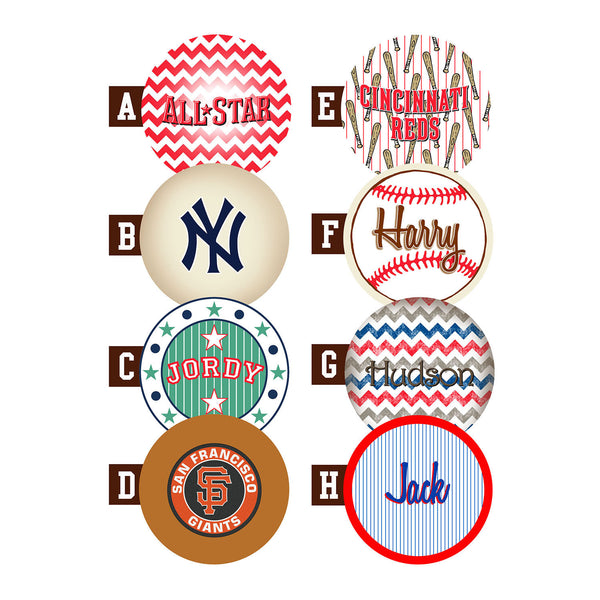 Customizable Baseball Baby Mobile Personalized