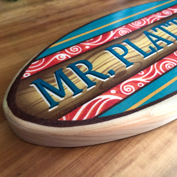 Teacher Appreciation Gift - Personalized Surfboard
