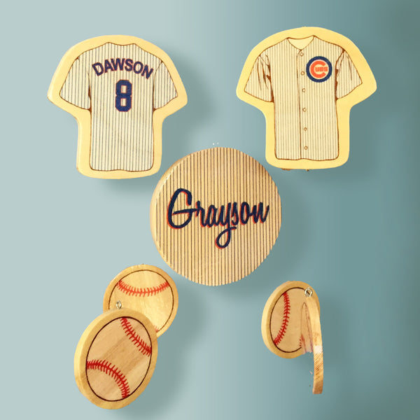 Chicago Cubs Baseball Baby Nursery