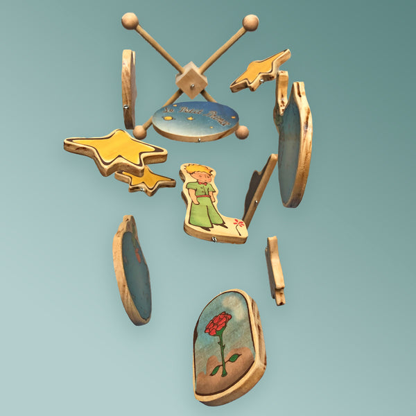 Le Petit Prince Baby Crib Mobile