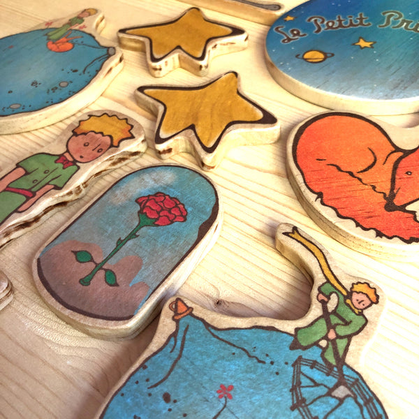 Le Petit Prince Wooden Baby Mobile