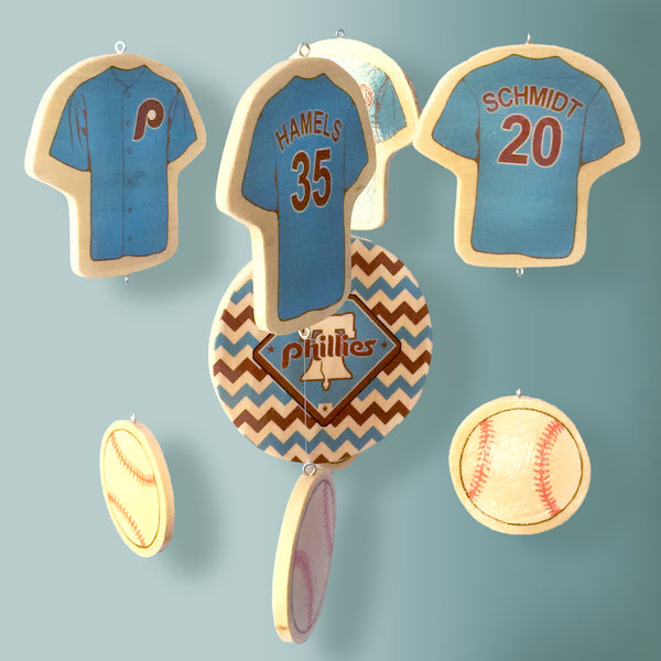 Philadelphia Phillies Baseball Baby Mobile